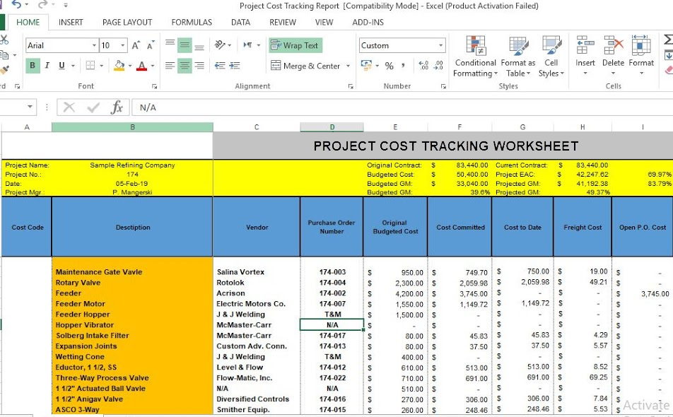 Project-Process-Tracking
